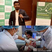 """""""நிறைய பேர் Hospitalku வராங்க; ஆனா Vaccine போட்டுக்காம்ம போறாங்க!"""": Dr Susanta Banik"""