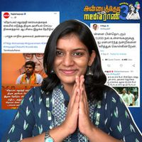 H Raja's 6 lakh Followers and Annamalai's Kandanam! Anbai Thedi With Media Raani | S03E09