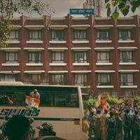 लखीमपुर हिंसा पर विपक्ष का दिल्ली में हल्ला बोल