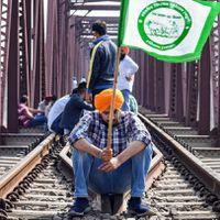 लखीमपुर घटना : किसानों का 'रेल रोको' अभियान आज